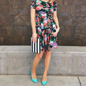 🌹Floral Roses Classic dress with pockets 👗Amelia